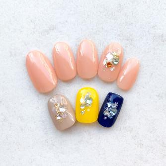 自爪に優しい para gel 定額シンプルコース